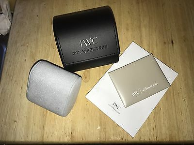 Genuine IWC Travel Box And Cleaning Cloth