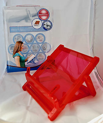 THINKING GIFTS CO Red Bookchair ~ Book Ipad Tablet Holder NEW Free Shipping!!
