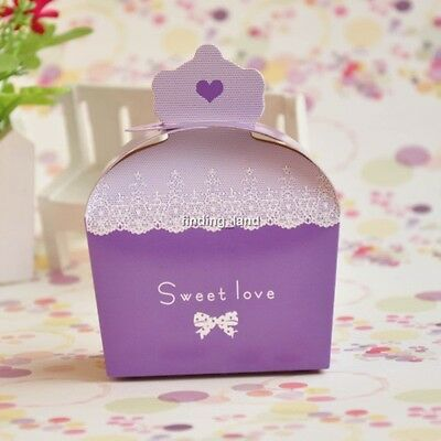 Wedding Favour Candy Gift Party Sweet Boxes -  Crown - CB2