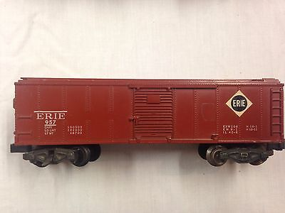 AC Gilbert American Flyer 957 1957 Erie Operating Boxcar