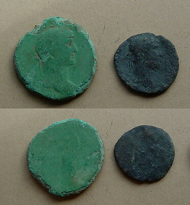 lot of Hadrian coins