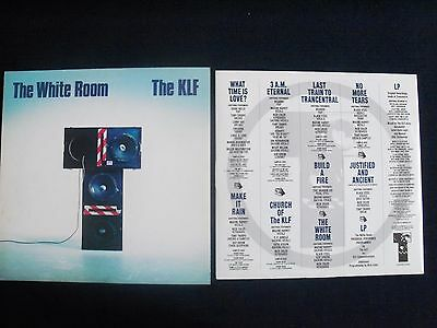 Klf. The White Room,picture Cover,lp,inner Sleeve,indie,rave,dance,1St Pressing