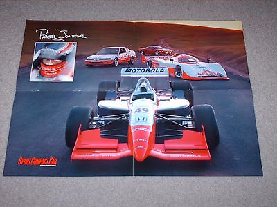 Honda Acura NSX Indy Parker Johnstone Racing Poster 1996
