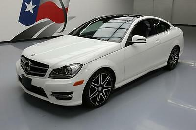 2014 Mercedes-Benz C-Class 4Matic Coupe 2-Door 2014 MERCEDES-BENZ C350 COUPE 4MATIC AWD SPORT PANO 31K #279922 Texas Direct