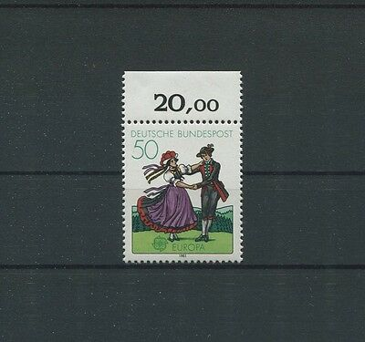 BUND ABART 1096 DD CEPT DOPPELDRUCK ** ERROR DOUBLE PRINT CAT. NOT LISTED! c5731