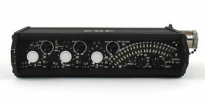 Sound Devices 302 Portable Audio 3 Channel Field Mixer