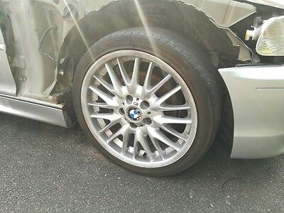 "Bmw 3 Series E46 Mv1 M Sport 18"" Staggered Alloy Wheels And Tyres - Set Of 4"