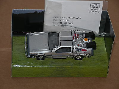 1/36 Corgi Back to the Future Delorean Time Machine - Unused