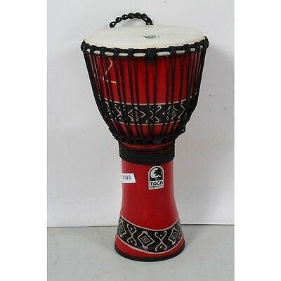Toca Synergy Freestyle Djembe Red, 12 in. 888366012895