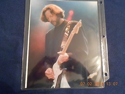 Lot Of Live Color Eric Clapton 8X10s, 3.5 X 5s, Etc. - Great Condition And Price