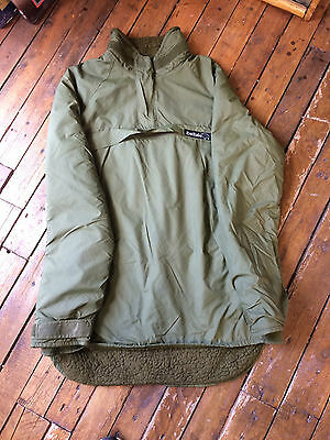 BUFFALO THERMAL SMOCK FLEECE LINED ARMY OLIVE GREEN SIZE 40 jacket surplus