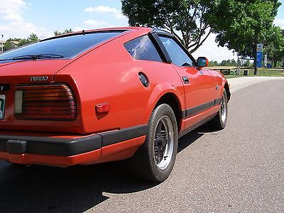1982 Datsun Z-Series Turbo GL 1982 Datsun Nissan Original Rare 280ZX Turbo GL Coupe 2-Seater S130 Anomaly