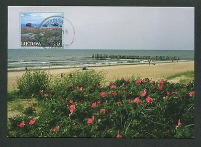 LITAUEN MK OSTSEE BALTIC SEA PRIVATE MAXIMUMKARTE CARTE MAXIMUM CARD MC CM d9160