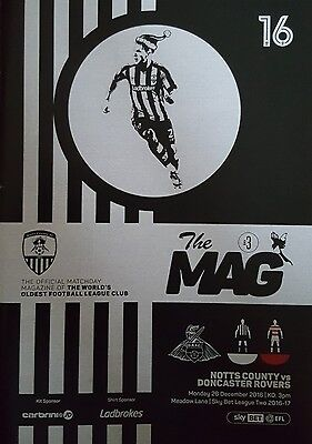 NOTTS COUNTY v DONCASTER ROVERS 2016/17