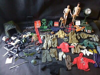 Vintage 1960s Action Man + Accessories.