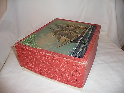 VINTAGE VICTORY WOODEN JIGSAW PUZZLE 1000 PCS POPULAR SERIES 28 x 22 CUTTY SARK