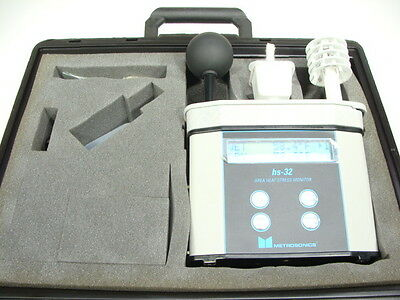 Quest Metrosonics 3M HS-32 QUESTemp Area Temperature & Heat Stress Monitor Set!