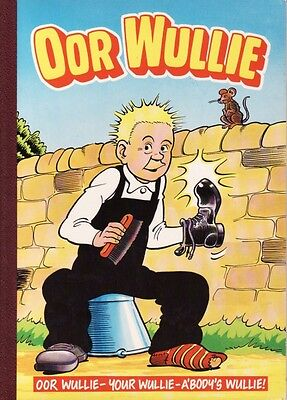 OOR WULLIE ANNUAL 1988- collectors item
