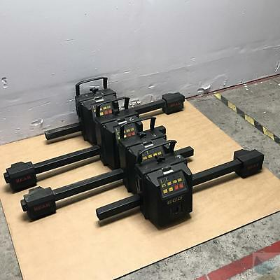 Lot of 4 Bear CCD Wheel Alignment Heads 60-1205 UNTESTED