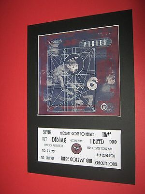 The Pixies Doolittle  A4 Mounted Album Print (Win 3 4Th Free)
