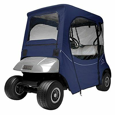 Classic Accessories Fairway Golf Cart FadeSafe Enclosure for E-Z-Go, Navy