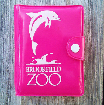 Vtg Brookfield Zoo Souvenir POCKET Toy GAME w Gold Rabbit PLAYING CARDS & More