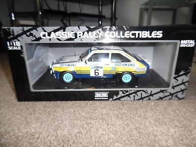 Ari Vatanen World Rally Champion 1.18Rs 1800 Ford Escort Signed Rally Day