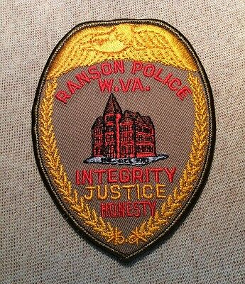 WV Ranson West Virginia Police Patch