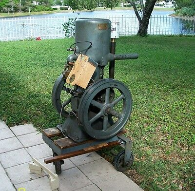 Antique Engine, ORR & Sembowler one cylinder, 4.0 HP, Gray, runs great, 1910