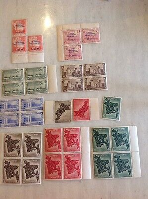 Pakistan Stamps Look Mint. 1947-55