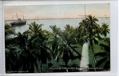 (Ga8655-477) View from Myrtle bank Hotel, Kingston, Jamaica BWI c1920 G
