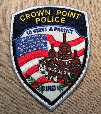 IN Crown Point Indiana Police Patch
