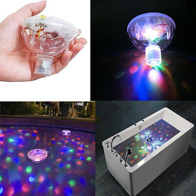 Water Floating RGB Colorful Light Show for Pond Pools Spa Bathtub Swimming 5 LED