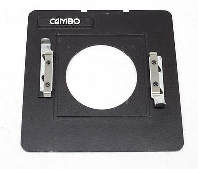 Cambo Large Format Camera Lens Board Adapter to 4x4 Boards