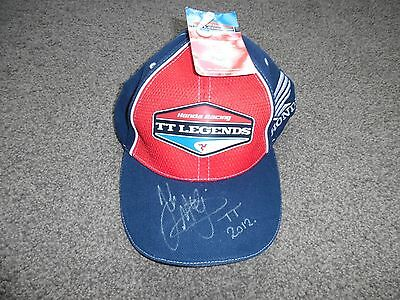 Signed John Mcguiness Honda Tt Legends Cap New With Tags Signed Great I Tem