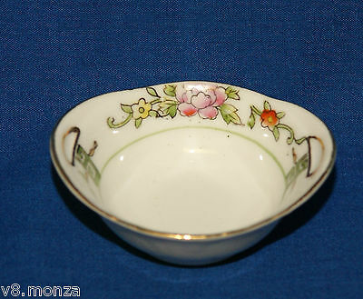 Nippon Hand Painted Bowl ~ Salt Dish Dips Cellars Dishes Open Salts