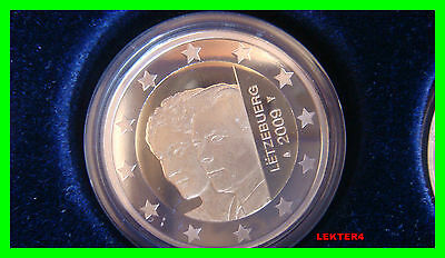 Luxembourg 2 euro 2009 Proof/PP/BE/FS Grand Duchess Charlotte - in capsule