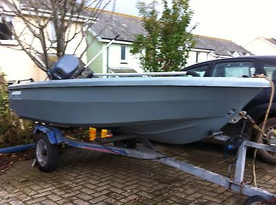Smartwave Boat with 15hp Yamaha Outboard