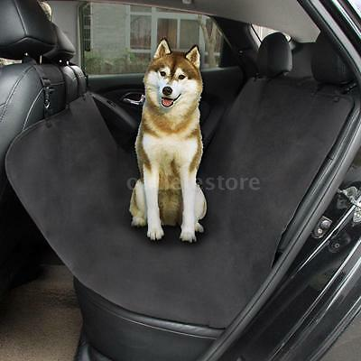 Pet Dog Car Rear Back Seat Cover Black Waterproof Cushion Protector Hammock A7L9