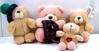 Andrew Brownsword Forever Friends Small Plush Teddy Bundle 4 x soft toys