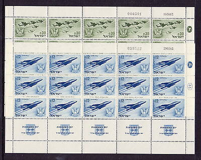 Israel 1962 14Th Independence ( 2 ) In Mnh Sheets Of 15