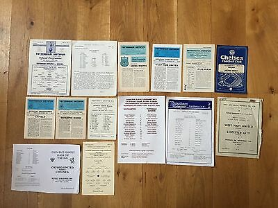 1953/54 West Ham v Leicester Combination Cup Cup Semi Final