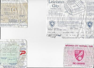 TICKET 1982/83 Leicester City v Chelsea League