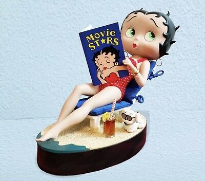 New The Danbury Mint Betty Boop Bathing Beauty Porcelain Collector Doll