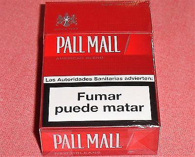 """*** """"pall Mall"""" Red Edition!, Paquet Collection! ((( Intact!!! ))) ***"""