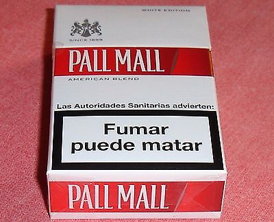 """*** """"pall Mall"""" White Edition!, Paquet Collection! ((( Intact!!! ))) ***"""
