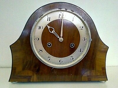 Chiming mantel clock for spares or repaire