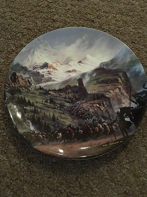 Lord Of The Rings Plate (The Ride Of The Rohirrim)