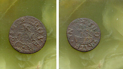unknown 17th Cent copper token Farthing -- POST FREE Worldwide