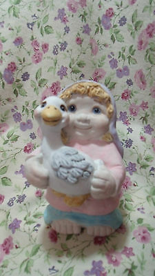Dreamsicles Girl With Goose 10477